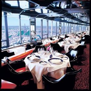 restaurant le ciel de paris