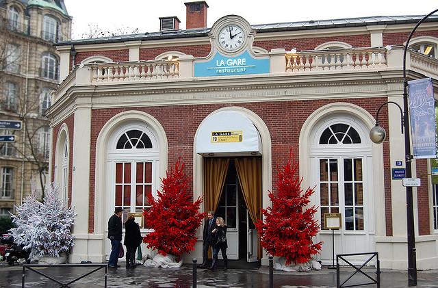 fachada restaurante La Gare