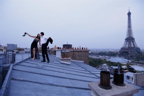 casal teto em Paris
